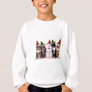Sweatshirt Chats de Père Noël