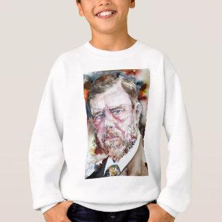 Sweatshirt CHAUFFEUR de BRAM - portrait d'aquarelle