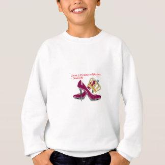 Sweatshirt Chaussures et couronne transparent2.png de