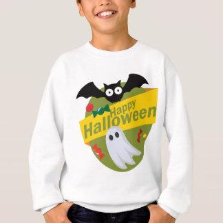 Sweatshirt Chauves-souris et fantômes heureux de Halloween