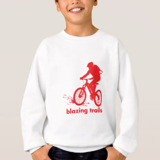 Sweatshirt chemise faisante du vélo de spécialité de montagne