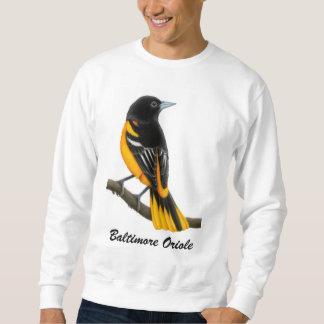 Sweatshirt Chemise personnalisable d'oiseau de Baltimore
