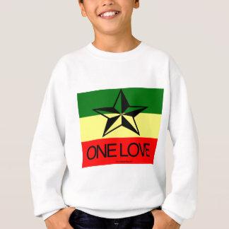 Sweatshirt Chemises d'amour de Rasta un