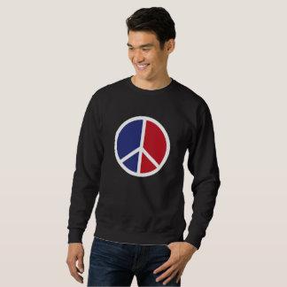Sweatshirt Chemises de signe de paix et d'amour