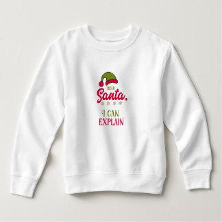 Sweatshirt Cher Père Noël, je peux expliquer