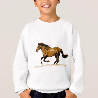 Sweatshirt Cheval courant