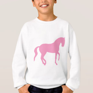 Sweatshirt Cheval de Piaffe (rose)