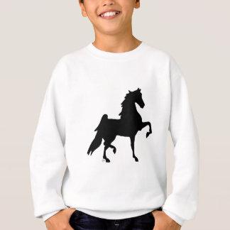 Sweatshirt Cheval de Saddlebred d'Américain