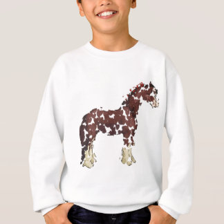 Sweatshirt Cheval Hearted.