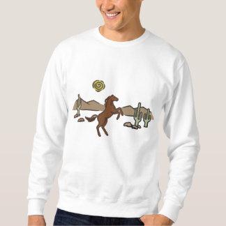 Sweatshirt Cheval occidental