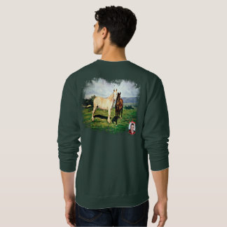 Sweatshirt Chevaux/Cabalos/Horses