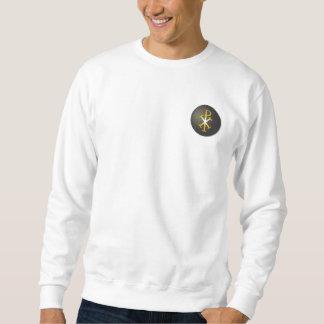 Sweatshirt Chi-Rho (symbole de Jésus-Christ)