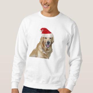 Sweatshirt Chien-animal familier de Labrador Noël-père Noël