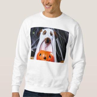 Sweatshirt Chien de fantôme - chien drôle - poursuivez