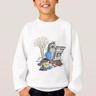 Sweatshirt Chillin drôle Groundhog