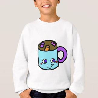 Sweatshirt chocolat chaud