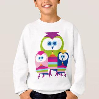 Sweatshirt Chouettes épervières de mère - personnaliser ou