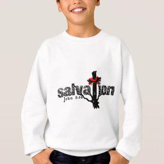 Sweatshirt Chrétien de 3h16 de John de salut