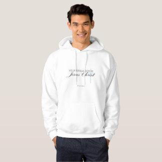 Sweatshirt chrétien inspiré de Jésus de citation