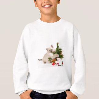 Sweatshirt Christmas cat
