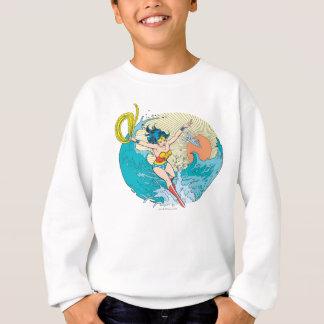 Sweatshirt Ciel d'océan de femme de merveille