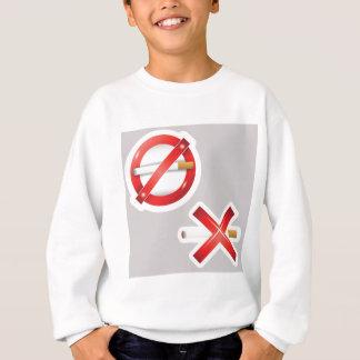 Sweatshirt cigarette