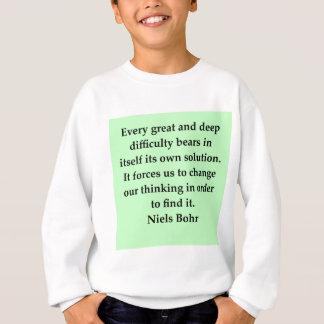 Sweatshirt citation de bohr de neils