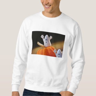 Sweatshirt Citrouille et fantôme - fantôme drôle - citrouille