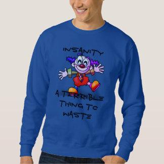 Sweatshirt Clowny a rendu la pièce en t folle