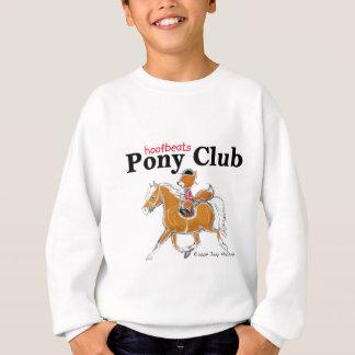 Sweatshirt Club T chestnut.jpg flaxen de poney