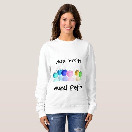 Sweatshirt Cocktail  de Fruits en miroir