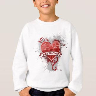 Sweatshirt Coeur Beethoven