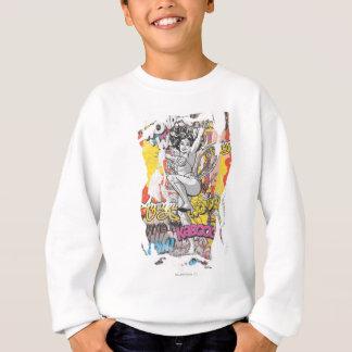 Sweatshirt Collage 1 de femme de merveille