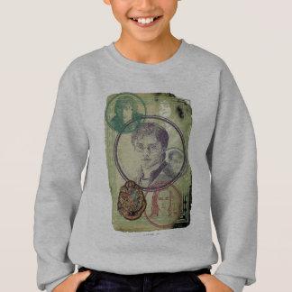 Sweatshirt Collage 9 de Harry Potter