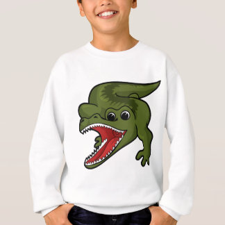 Sweatshirt Conception de crocodile