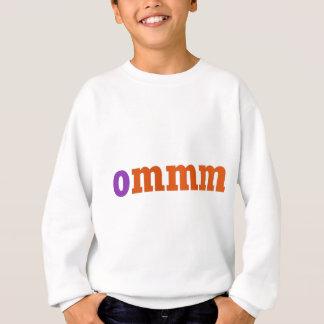 Sweatshirt Conception de méditation d'Ommm