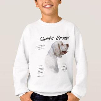 Sweatshirt Conception d'histoire d'épagneul de Clumber