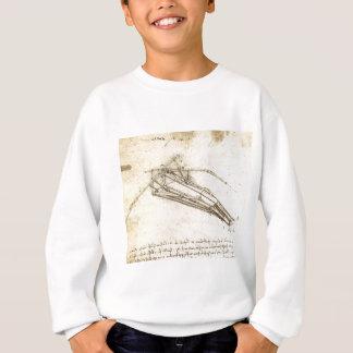 Sweatshirt Conception pour une machine de vol par Leonardo da