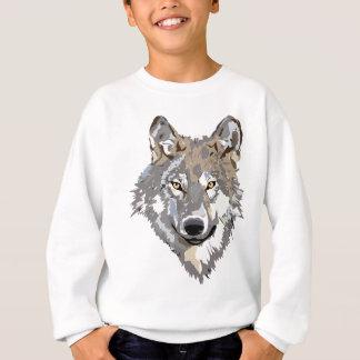 Sweatshirt Conception principale de tatouage d'art de loup