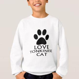 SWEATSHIRT CONCEPTIONS DE CAT DE L'AMOUR TONKINESE