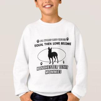 Sweatshirt conceptions de maman de terrier de Manchester