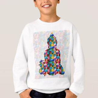 Sweatshirt Conscience de BOUDDHA : Roulé dans des BIJOUX