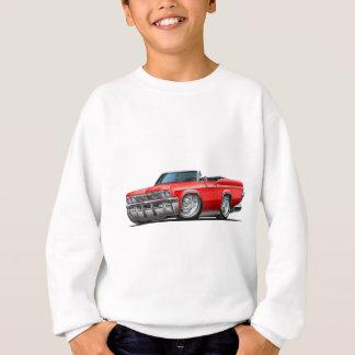 Sweatshirt Convertible 1965-66 rouge d'impala
