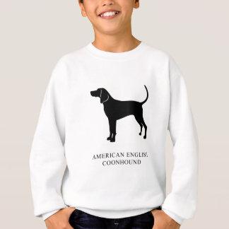 Sweatshirt Coonhound de l'anglais américain