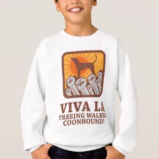 Sweatshirt Coonhound de marcheur de Treeing