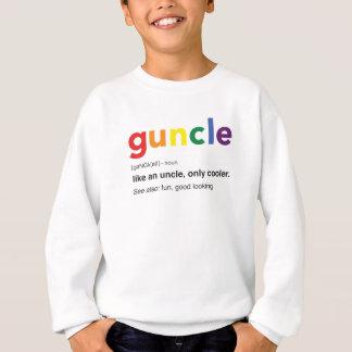 Sweatshirt Copie drôle de définition de Guncle