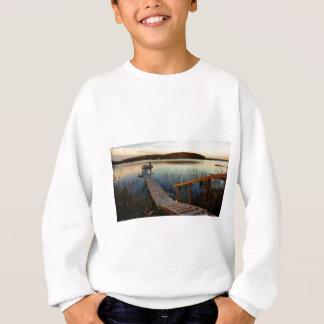 Sweatshirt Coucher du soleil à la baie