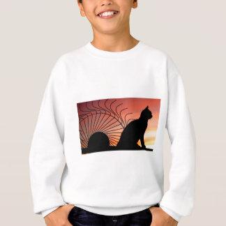 Sweatshirt Coucher du soleil Canada de pays