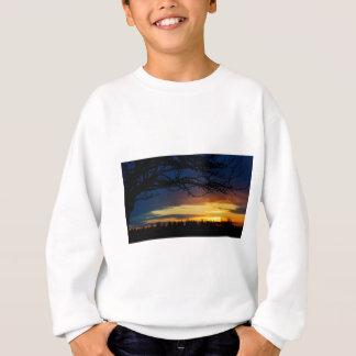 Sweatshirt Coucher du soleil de bleu d'île
