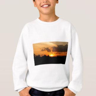 Sweatshirt Coucher du soleil d'île de St Joseph